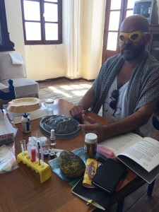 How to make a volcano, workshop by Andreas Angelidakis